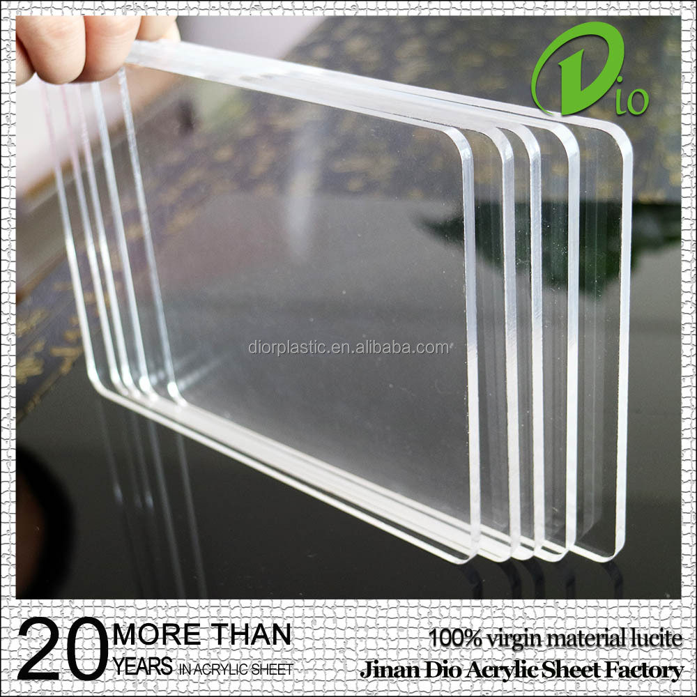 High quality plastic sheets transparent light diffuser price of pmma sheet
