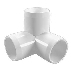 New Hot Product Furniture Grade PVC 3 Way Elbow Pipe Fittings