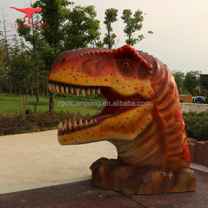 animatronic dinosaur for sale dinosaur head fiberglass sculpture