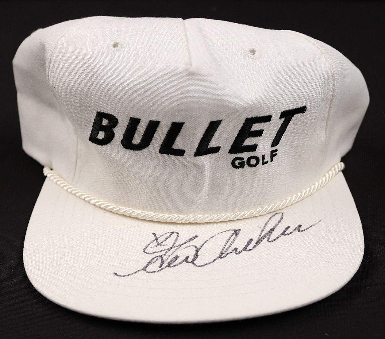 ee287702f93e31 Get Quotations · George Archer Golfer Signed Bullet Golf Hat - COA - JSA  Certified - Autographed Golf Hats