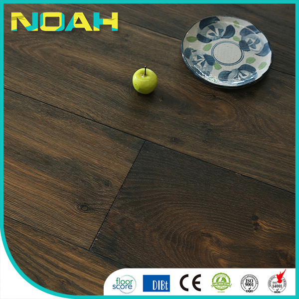 wear layer engineered flooring brown