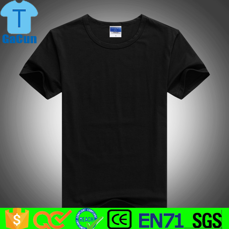 New fashion high quality cotton tee <strong>shirts</strong> for print tshirt