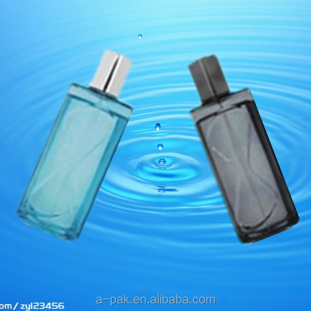 Hot Sale High Quality 110ml glass perfume bottle for man cosmetic packaging