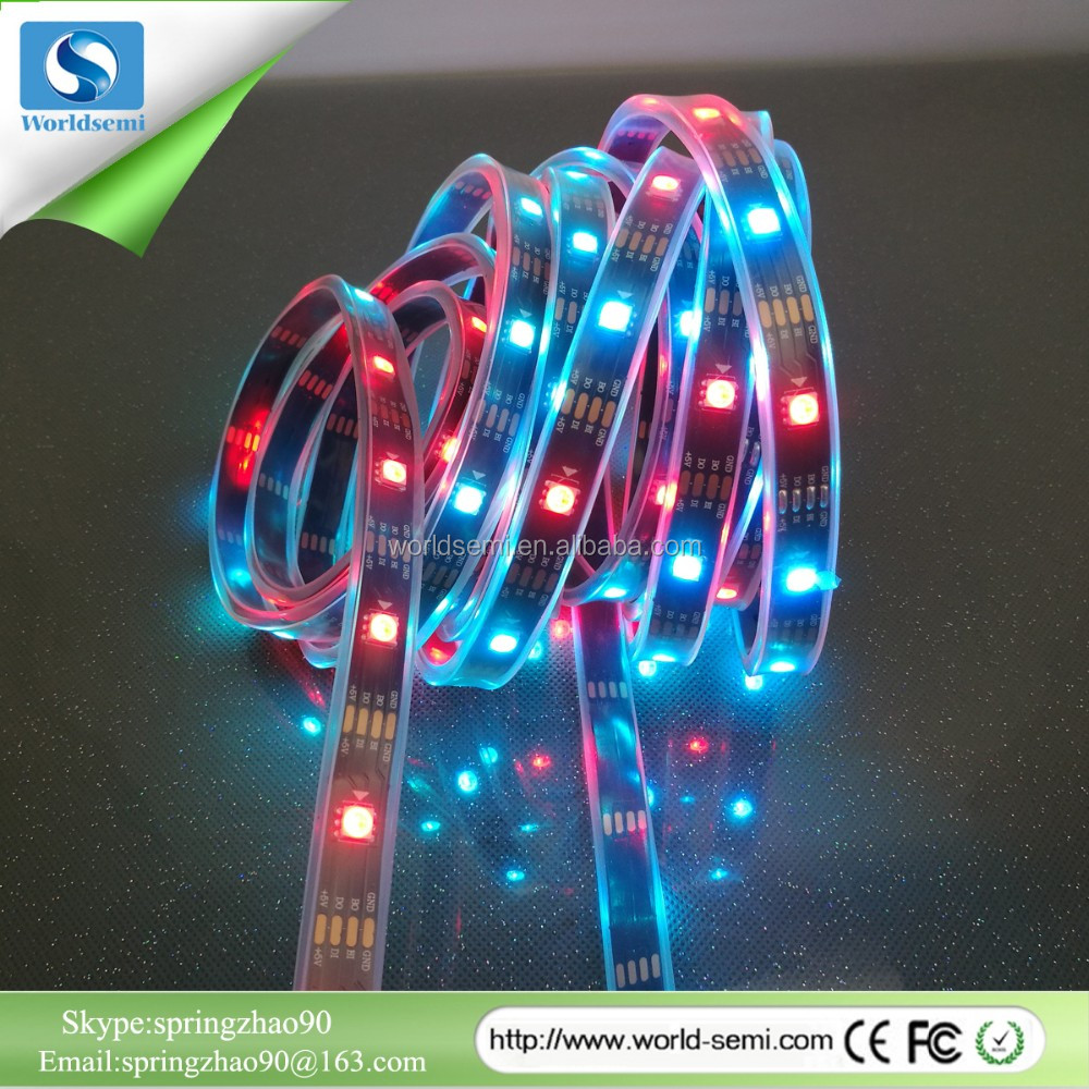 New Arrival WS2813 Dual Signal 5V Individually Addressable Magic Digital Dream Color Led Strip