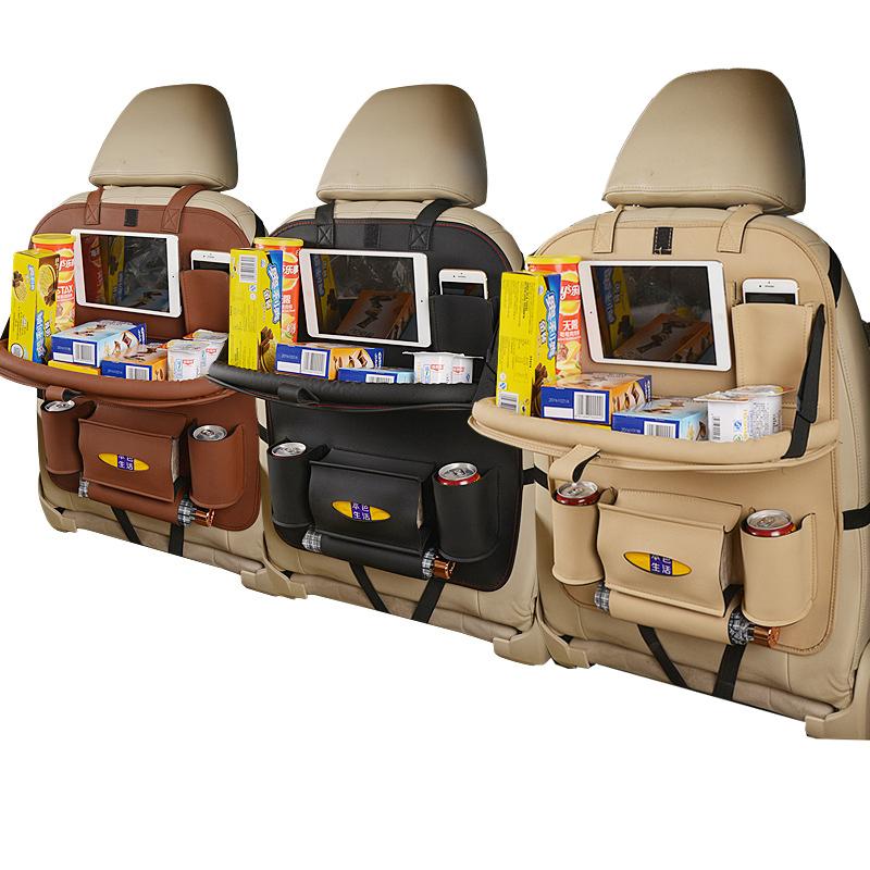 Искусственная кожа, органайзер на заднее сиденье автомобиля, автомобильный Стайлинг, держатель, мульти-карман, укладка, сумка для хранения для автомобиля, внедорожник, аксессуары для грузовиков