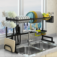 Hot Selling High Quality Kitchen Sink Dish Rack/ Kitchen Steel Rack Storage