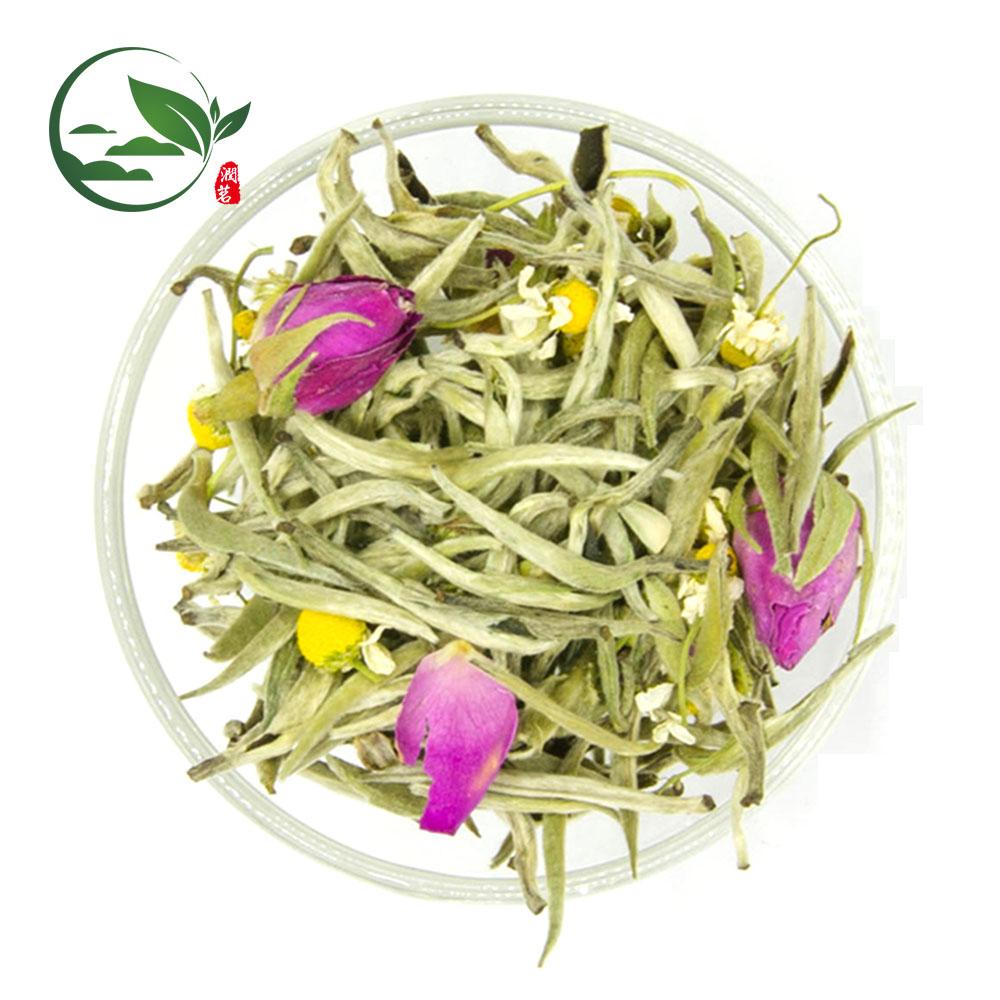 New Products Chamomile Rose Silver Needle White Tea - 4uTea | 4uTea.com