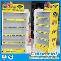 plastic food display rack beautiful corrugated plastic display