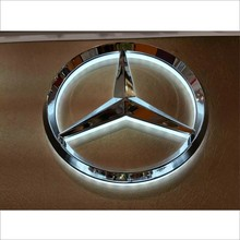 LED licht type en 12 v voltage led teken licht voor Mercedes Benz BMW Honda Toyota Verschillende LED <span class=keywords><strong>auto</strong></span> logos