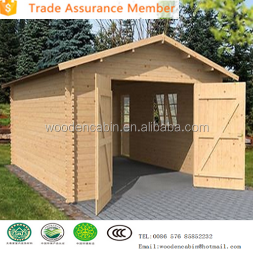 Popular Wood garage with good quality