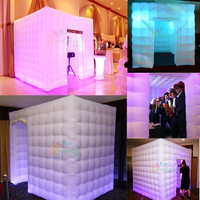 led rent portable inflatable photo booth,inflatable dome photobooth for sale
