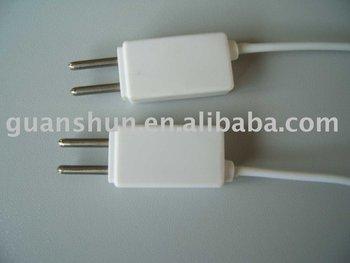 Plug Of Heater Inside Electrical Blanket