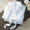 Hot Selling Cheap Velour Fabric Kimono Collar Bathrobe for Spa and Hotel
