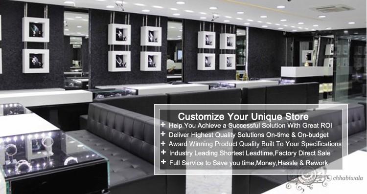 Jewelry Showroom Furniture Display Showcase And Interior Design