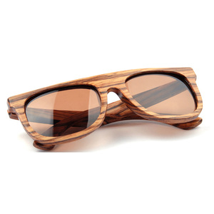 Wholesale Polarized Customized Logo Wood Sunglasses