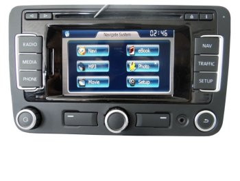 vw rns315 interface for 2012 tiguan jetta gps navigation system video rear camera interface. Black Bedroom Furniture Sets. Home Design Ideas