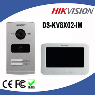 Hikvision villa video intercom system DS-KV8X02-IM Metal Villa Video Phone Door Station