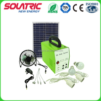 20W rechargeable solar panel off-grid system for Home Lighting Use
