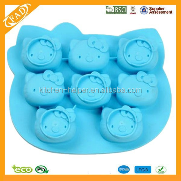 New Arrival 3d silicone cake mold fondant cake decorating tools cooking tools forma de silicone