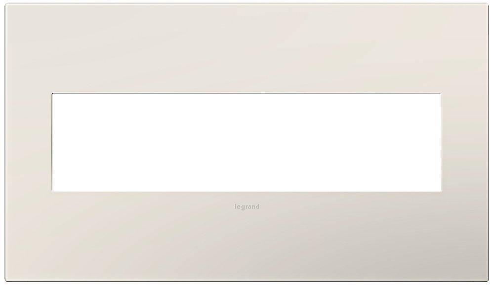 Legrand (AWP4GLA4) adorne Satin Light Almond 4-Gang Wall Plate