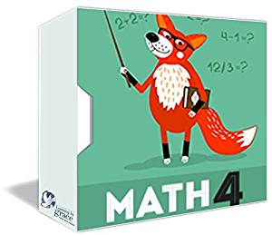 MATH 4th GRADE Online Course w/ Teachers - Full Year – Accredited Online HomeSchooling Course - Christian HomeSchool Curriculum - 180 Daily Lessons - MultiMedia Rich - Private Christian School since 2001