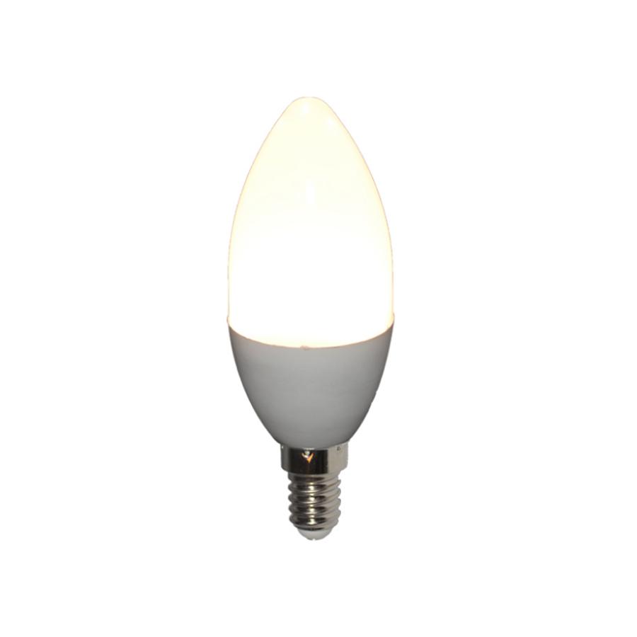 LIWEIDA brand 160 degree 3w dimmable led bulb lights 110v 220v  6000K E14 E12 E26 E27 cold white led candle lamps for hotel