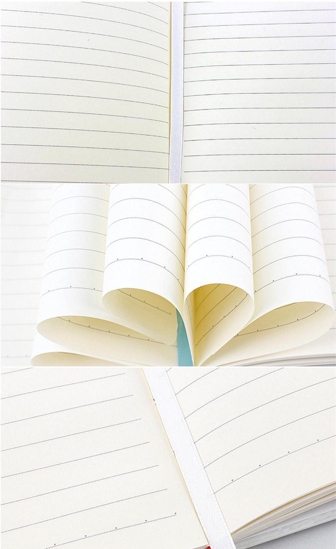 ไดอารี่ Office อุปกรณ์โรงเรียนเครื่องเขียนน่ารักเกาหลีกระดาษเรียงราย Bullet Journal A5 วางแผนปกแข็งโน้ตบุ๊ค/a5 โน้ตบุ๊ค