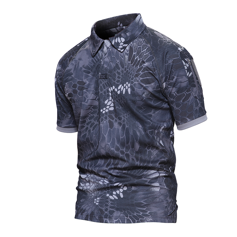 New Summer Army T Shirt Men Military Shirt Men's Tactical Combat T Shirts Breathable Camouflage Tee Shirt TD-YCXL-015