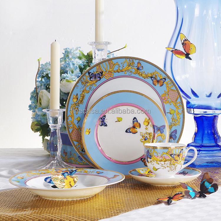 20 Pieces Luxury Fine China Dinner Set
