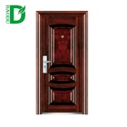 New design professional steel door bullet proof door design steel security door with many function