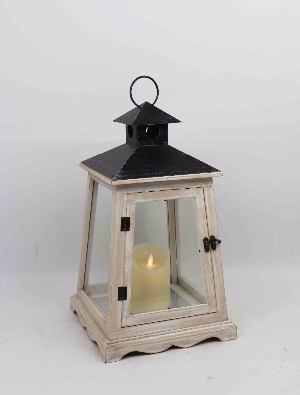 Ml 2025 Square New Style Windproof Wooden Iron Glass Outdoor Lantern Stand Buy Wooden Lantern Lantern Stand Outdoor Lantern Stand Product On Alibaba Com