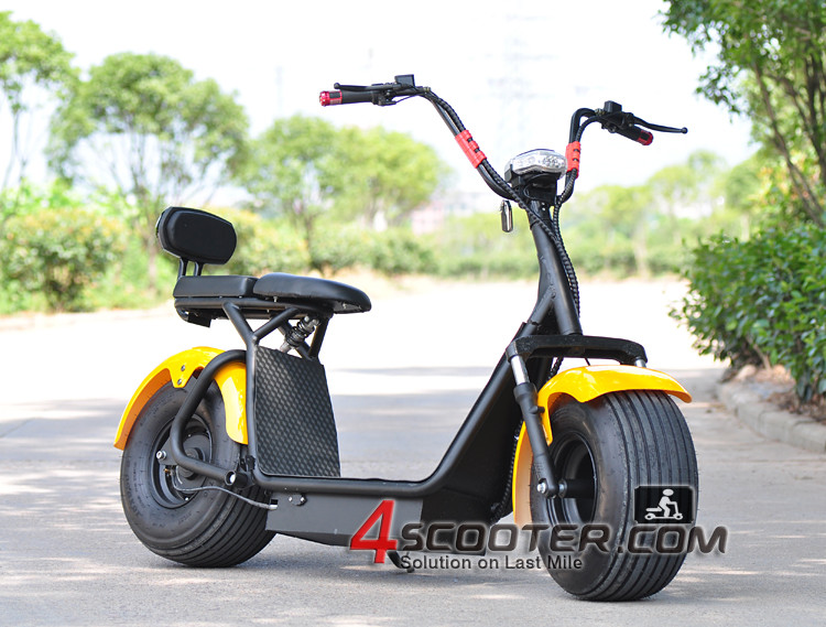 Electric Scooter Bike >> 1000w 1500w City Coco Bike Scooter Fat Tire Electric Scooter Buy