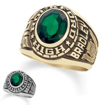 cap achievers school class gown rings