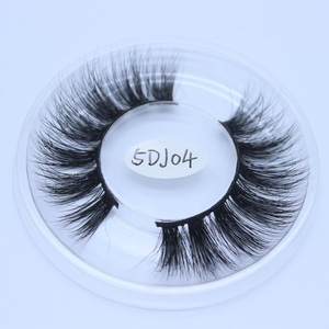 100% mink private label best eyelash 5d mink eyelashes