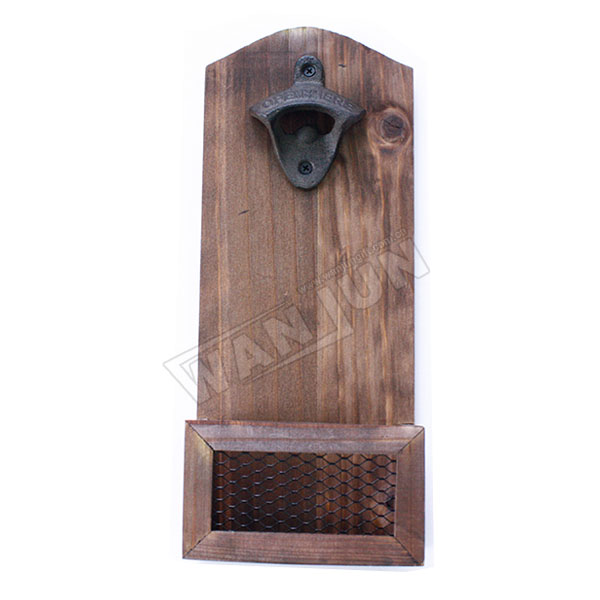 custom wholesale cheap metal bar wall mounted bottle opener