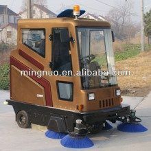 E800LD CE concrete floor garbage collection equipment ,mechnical broom battery sweepers