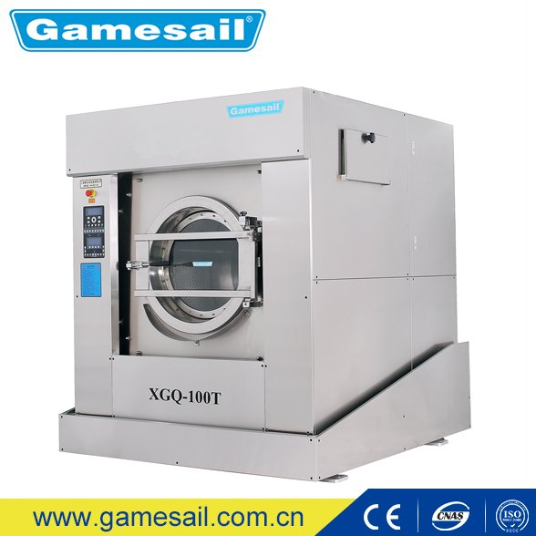 Gamesail Top Sell industrial heavy duty washing machine, hotel hospital laundry equipment prices, washer extractor 15kg-130kg