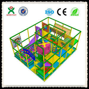 Hot selling mini naughty castle,mini soft playground,kids ball pool + slide multifunctional play center