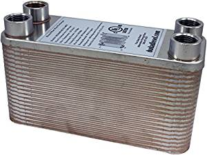 5955ea95f1 Duda Energy HX1240 HB12 B3-12A 40 Plate Stainless Steel Heat Exchanger with  1 2
