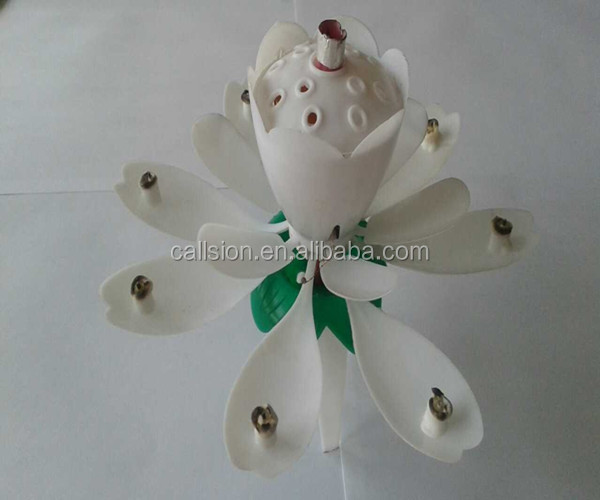 white suppliers fireworks music birthday candle with triangle china