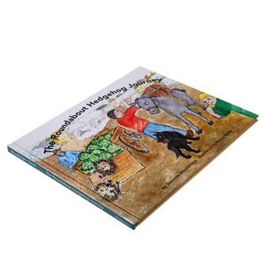 Top quality eco friendly children cardboard book printing