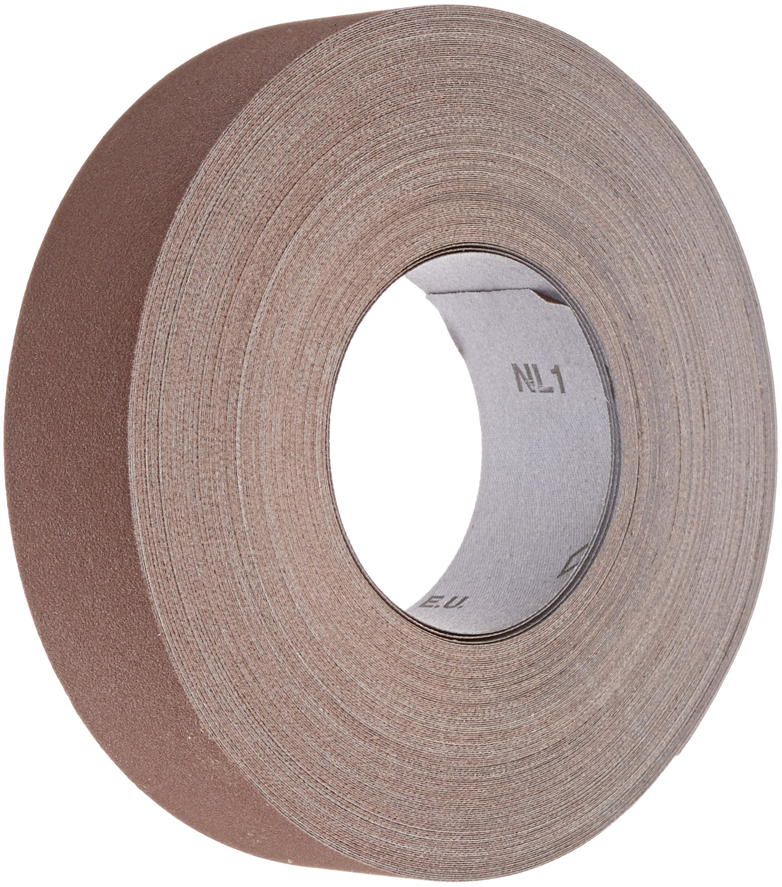 Pack of 5 Norton K225 Metalite Abrasive Roll Cloth Backing Aluminum Oxide 2 Width x 50yd Length Grit P180