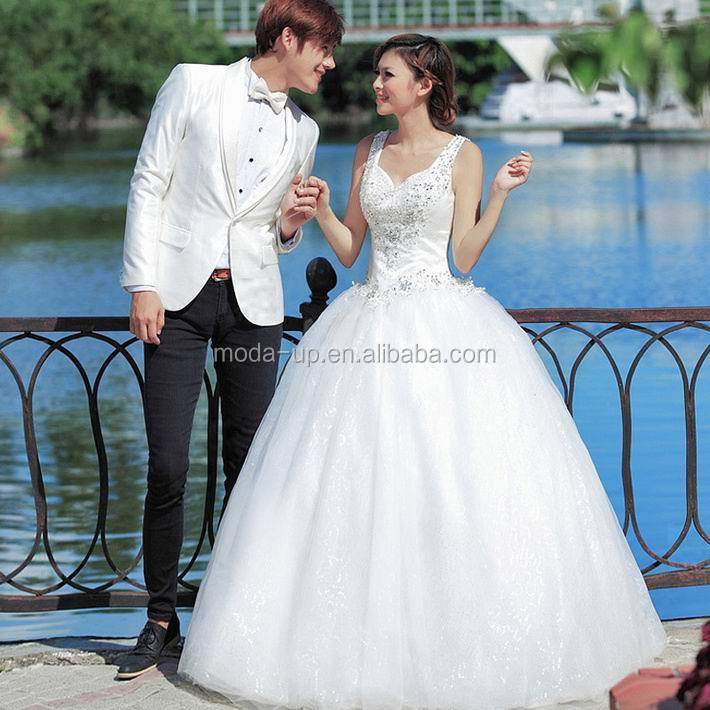 China custom made wedding dress/ guangzhou wedding dress/ bridal wedding dress