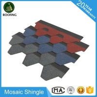 Mosaic asphalt roofing sheet,low price roofing material asphalt shingles with great price