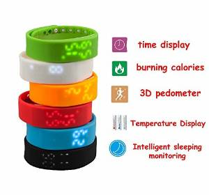 Efanr 2015 Water Resistant Bluetooth Smart Watch Bracelet Exercise Smartwatch Running Wristbands Sports Watches Luxury Fitness Health Tracking System Wrist Watch Women Men Cell Phone Mate Partner 3D Pedometer Step Walking Distance Calorie Counter Activity Tracker Sleep Monitoring Silicone