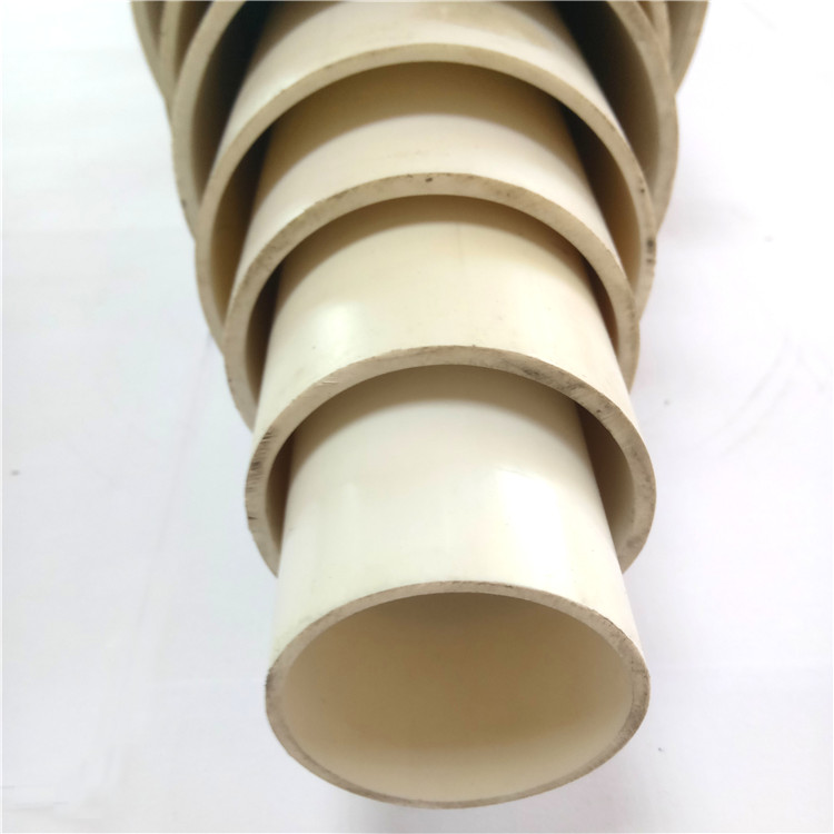 anti UV 50 Class B Class C 55mm 110 180 diameter pvc pipe for water