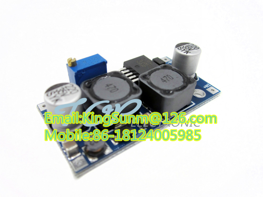 2. 4-30v To 1.25-35v Auto Dc-dc Boost Buck Converter Solar Voltage ...