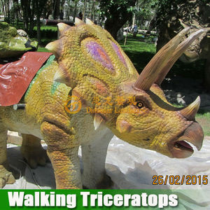 Popular in Carnival party mechanical walking dinosaur for entertainment