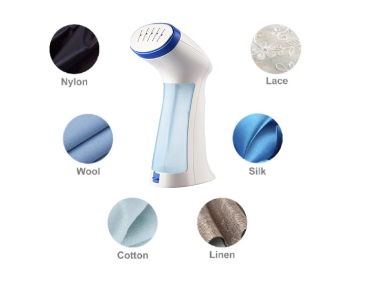 Portable travel garment steamer