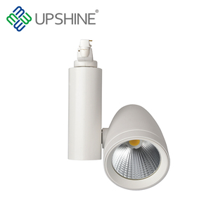 High Cost Performance Aluminum 12W Cob Led Track Lights With Ce Rohs Saa Tuv